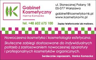 Gabinet Kosmetyczny Hanna Kornacka