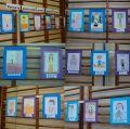 Portrety nauczycieli wykonane przez uczniów - fot. Hanna Kowalska